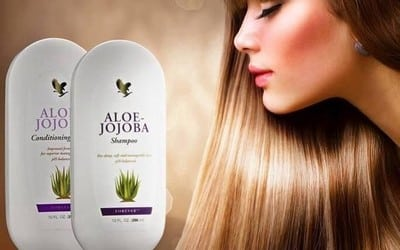 Forever Living Aloe-Jojoba Shampoo & Conditioner