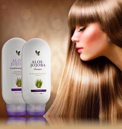 Forever Living Aloe-Jojoba Shampoo & Conditioner
