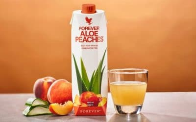 FOREVER ALOE BITS N PEACHES